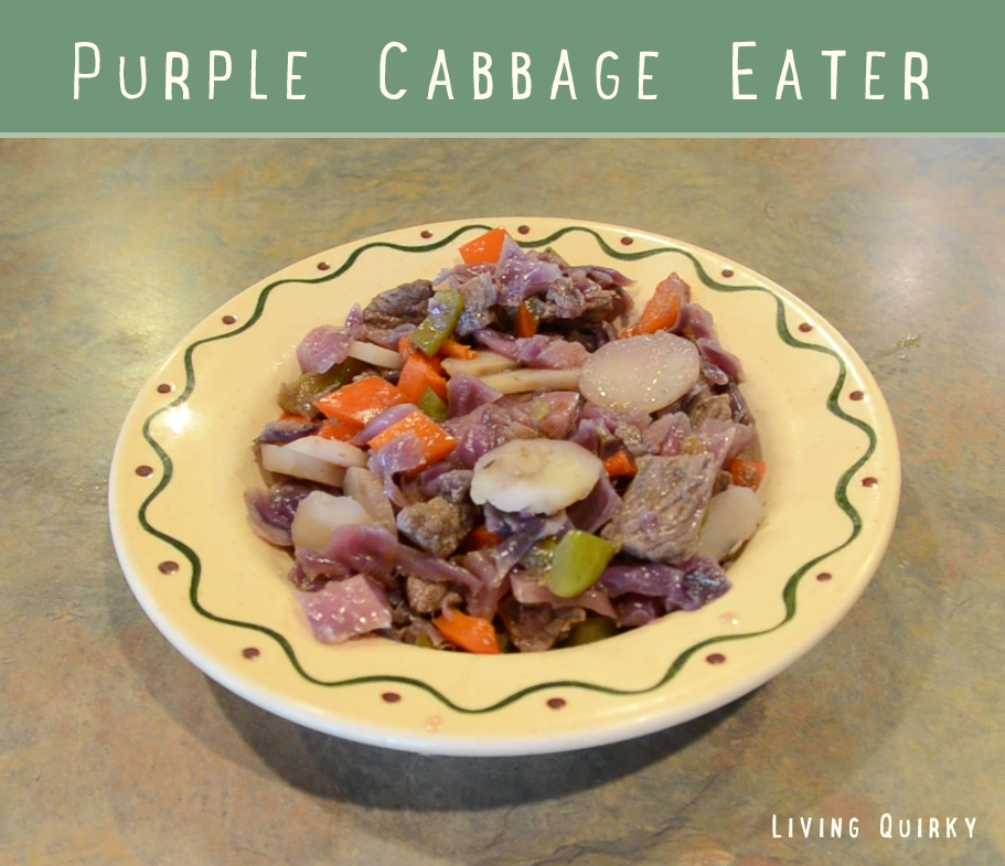 Purple Cabbage Eater