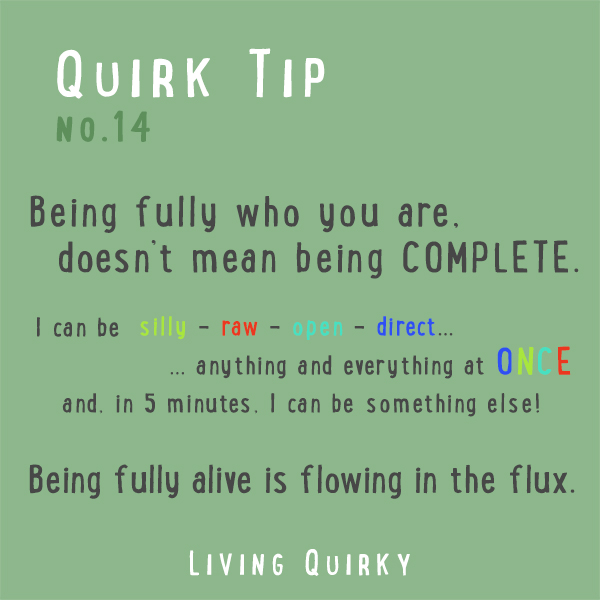 QT14 - Flowing in the flux.